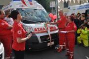 Nuova ambulanza per la CRi di Incisa
