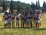 U8 di Aeroporto Firenze Rugby a Rosignano. Foto: Cristina Liverani