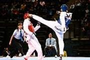 Combattimento di taekwondo