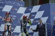 Podio Moto GP 2014 al Mugello