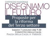 Immagine dalla locandina del convegno 'Proposte per la riforma del terzo settore'