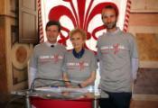 Dario Nardella, Bona Frescobaldi e Andrea Vannucci - Foto Comune di Firenze