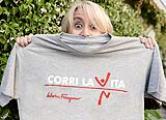 CORRI LA VITA: Presentazione XII edizione Nella foto Luciana Litizzetto