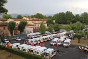 Il trasferimento dei pazienti del San Jacopo un anno fa