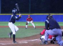 Fase di gioco al Torneo Citta' di Firenze di baseball giovanile
