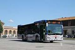 Uno dei nuovi autobus Ataf