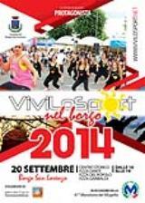 Locandina di Vivilosport nel Borgo 2014