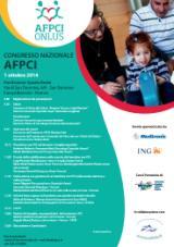 Locandina con il porogramma del convegno AFPCI