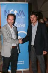 Federico Gelli con Giuseppe Cabras