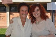 Alice Piovanelli col sindaco Mugnai