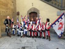 Foto gruppo under 16 Pasqua 2014 Palagio di Parte Guelfa sede del Calcio Storico