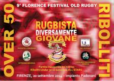 Locandina Torneo Festival Old Rugby Over 50