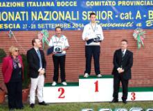 Claudio Tonnicchi sul podio