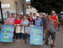 I volontari della Parrocchia di San Lorenzo a Montegufoni e dei Circoli Arci ed Mcl