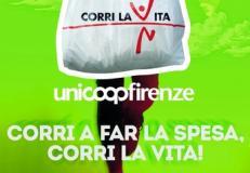 Promozione Unicoop in favore di Corri la Vita
