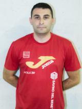 L'allenatore in seconda Matteo Azzini