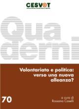 Pubblicato il nuovo Quaderno Cesvot