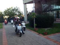 Le Vespe arrivano alla Residenza Sanitaria 'Le Vele' di Fucecchio