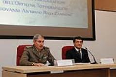 inaugurazione della mostra Le matrici cartografiche officina topografica di Giovanni Rizzi Zannoni