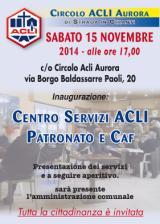 Inaugurazione patronato e Caf Acli