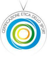 Logo certificazione etica per lo sport