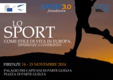 a Firenze, con Sport 3.0 Foundation