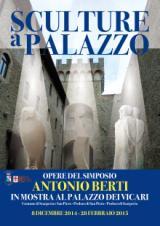 La locandina di 'Sculture a Palazzo'