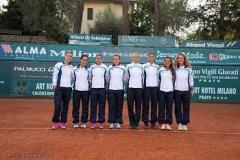 Serie A1 Tc Prato Femm campo centrale Trevisan, Nesti, Stefanini, Kucova, Dentoni, Mel, D'Ambrosi,Camerin, Romoli