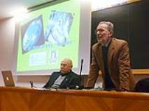 Il Prof. Massimo Morisi (a dx) e il Prof. Massimo Borra (a sx)