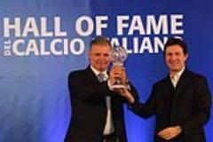 Hall of Fame del calcio italiano in Palazzo Vecchio, Nardella premia Braschi