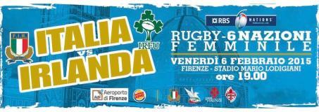 Rugby. 6 Nazioni Femminile 2015: Italia - Irlanda al Lodigiani di Firenze