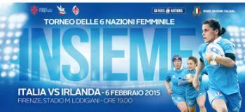 Aeroporto Firenze Rugby - 6 Nazioni Femminile 2015: