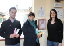 da sinistra, Assessore all'istruzione Jacopo Arrigoni, Cinzia Orsi del Forum delle Donne, Assessore alal pari opportunità Clara Conforti