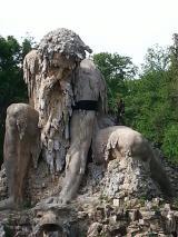 Il Gigante dell'Appennino a lutto