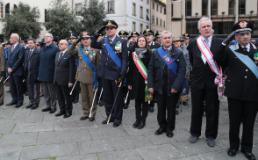 Cerimonia del 4 novembre a Firenze
