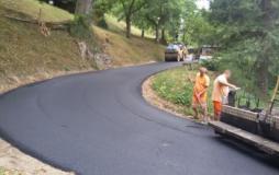 Lavori sulle strade di Palazzuolo