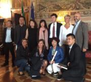 I tour operator cinesi ricevuti in Palazzo Vecchio