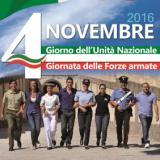Manifesto delle Forze armate per il 4 novembre 2016