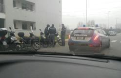 Polizia in azione per i controlli dei Servizi a alto impatto