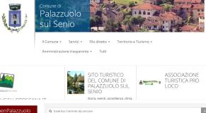 Home page del nuovo sito del Comune di Palazzuolo
