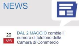 Immagine dal sito della Camera di Commercio di Firenze