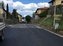 Ripristinato il piano viabile della Sp 17 a Cancelli