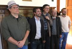 Da sinistra: Fabio Chiari, Lorenzo Falchi, Marco Becattini, Gualtiero Nicolini, Francesco Algieri