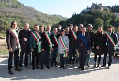 I sindaci empolesi ad Arquata del Tronto