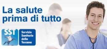 Banner del sitema sanitario della Toscana
