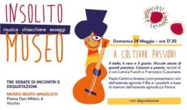 Depliant serata del 14 maggio al museo di Vicchio