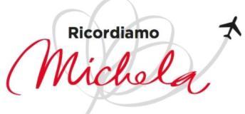 Grafica per 'Ricondiamo Michela'