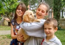 Cane incontra uomo (fonte foto sito Regione)