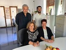 nella foto le dottoresse Vezzosi e Piccioli e i dottori Cerullo e Olivares