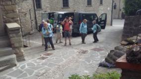 turisti a  Palazzuolo sul Senio